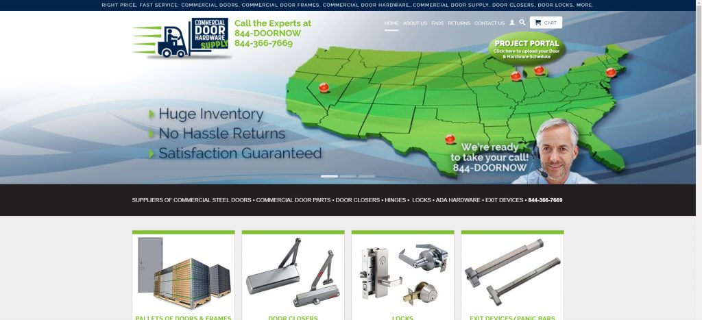 SEO For Commercial Door Hardware Supply Co